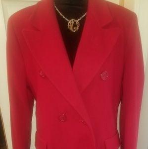 Preston & York full length 100% wool coat